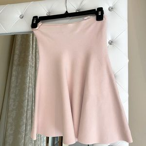 Adorable Pale Pink Bandage Flare Skirt